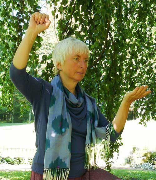Ulrike Dehnert, Lehrerin für QiGong und Taiji